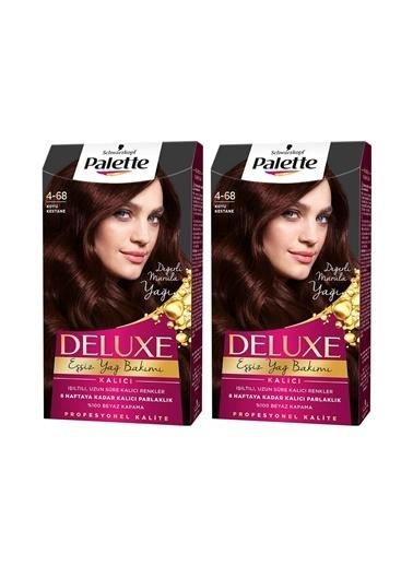Palette Palette Deluxe 4-68 Koyu Kestane X 2 Paket Renkli